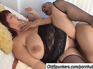 Beautiful big tits mature BBW..