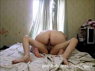 Teen mom slut sucks and ride..