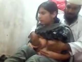 Pakistani Playing Around with a Girl