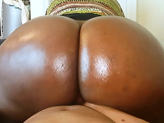 Big Black Butt POV Reverse..