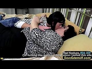 Teen Girl Eats Big Hairy Mature Granny