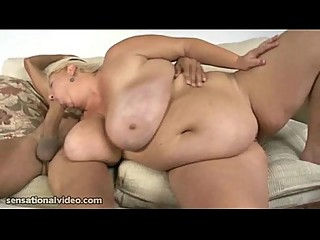 Huge Tit BBW Mom Fucks Massive..