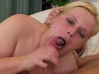 BBW Mom vs Cock