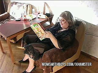 Mama Reads Porn And Gets..