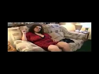 Bbw hot smoking mom